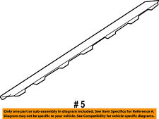 FORD OEM Explorer Sport Trac Tail Gate Tailgate Hatch-Molding Trim 7A2Z7840602BA