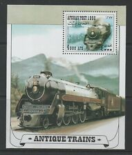 Thematic Stamps Transports - AFGHANISTAN 1998 ANTIQUE TRAINS MS mint
