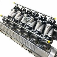 Jaguar E type V12 Inlet manifold and individual 45mm throttle body kit ITBs