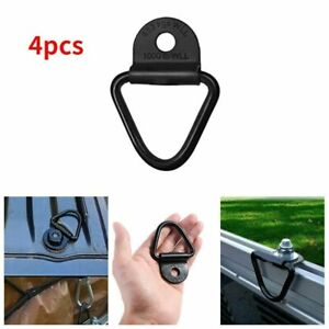 4X Heavy Duty Truck Fixed Trailer Anchor Rings Lashing Tie Down Hook Accessories