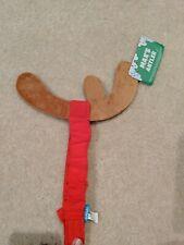 Bark Box Max's Antler Dog Costume Christmas Holiday NWT