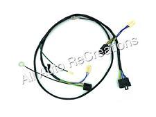 Holden HX HZ Single Headlight Wiring Harness Loom Kingswood