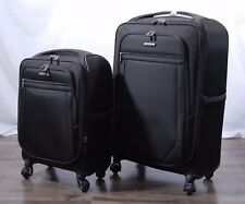 "Samsonite Ultralite ll Luggage Spinner Set Black 2 Piece 27"" 21"""