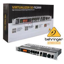 Behringer Virtualizer 3D FX2000 High-Performance Multi-Engine Effects Processor