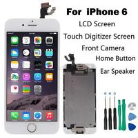 Full Set LCD Touch Screen Digitizer Assembly Replacement for iPhone 6 White