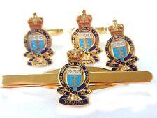 Royal Army Ordnance Corps Cufflinks, Lapel Badge, Tie Clip RAOC Gift Set
