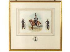 c1900 Richard Simkins Military Watercolour Yorkshire Hussars