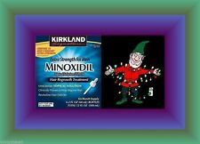 Kirkland 5% Minoxidil LIQUID Hair ReGrowth PERFECT CHRISTMAS STUFFER SALE OFFER