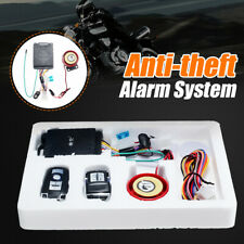 12V Motorcycle Scooter Car Security Alarm System Anti-theft Remote Engine