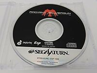 SEGA SATURN  RADIANT SILVERGUN  JAPAN USED