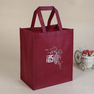 creative packaging bags paper gift box with string for red wine bottleX Gt