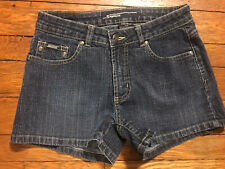 Women's Squeeze SQZ Size 7/8 Denim Blue Jean Short Shorts