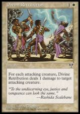 MTG 1x DIVINE RETRIBUTION - Mirage *Rare Damage NM*