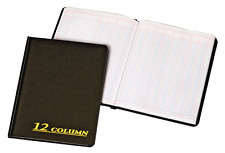 Adams Account Book, 12 Column, 7 x 9-1/4 Inches, 80 Pages ARB8012M