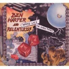 BEN & RELENTLESS 7 HARPER - WHITE LIES FOR DARK TIMES  CD 11 TRACKS BLUES NEW+