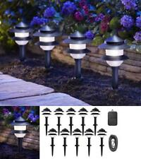 8 Pack LED Outdoor Landscape Fixtures Path Lighting Spot Lights Garden