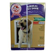 Ideal Pet Access Door Xlarge Flap AirSeal Entrance Flap Opening Mounted Dog Door