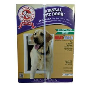 Ideal Pet Access Door XLarge Flap AirSeal Entrance Flap Opening Mounted Dog Door