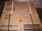 2 Kartons 24 Rationen US ARMY CASE A&B MRE/MEAL (EPA) INSP/TEST:07+09-2023