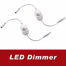 2x 12V~24V 5A Manual Dimmer Switch for LED Strip Single Color LED Strip Light