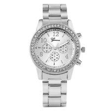 Fashion Geneva Women's Bracelet Watch Analog Quartz Wristwatch Alloy Strap Gift