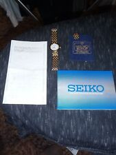 Gold plated Ladies Seiko Solar watch - needs some tender loving care