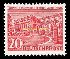 EBS West Berlin 1949 Berlin Buildings (I) Technical Institute Michel 49 MNH**