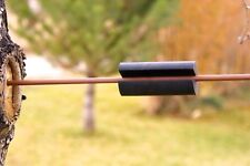 Rubber arrow puller for archers to help pull out stuck arrows nice grip new