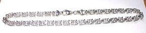 Sterling Silver 925 Hallmarked Heavy  18 inch Byzantine Chain Mens / Ladies