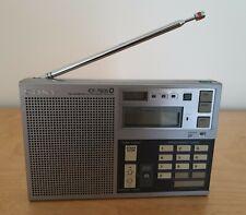 Sony Icf-7600D Digital Portable World Radio Receiver