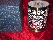 PartyLite Windlicht goldene Blätter P92594
