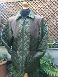Barbour New KEEPERS quilted country Shooting jacket size men's Large