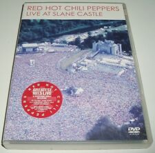 ** Red Hot Chilli Peppers ** Live At Slane Castle ** UK PAL R2/3/4/5/6 DVD * EXC