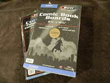 100 New BCW Current Resealable Comic Book Bags And Boards - Acid Free - Archival