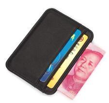 Credit-card Case Organizer Men Wallets Slim Soft Sheepskin Leather Card Holder