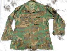 1970 ERDL brown US ARMY VIETNAM WAR 3RD PAT BDU jungle COAT JACKET x cib para