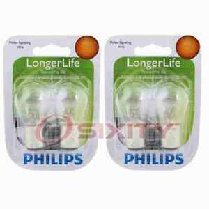 2 pc Philips Brake Light Bulbs for Hyundai Accent Elantra Elantra Coupe ht
