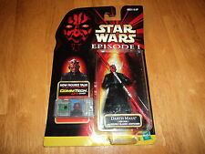 Star Wars Episode 1 DARTH MAUL Jedi Duel Figure w/Double-Bladed Lightsaber