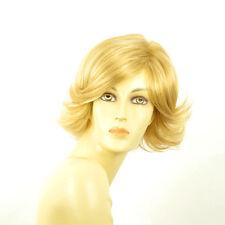 Perruque femme courte blond clair doré MARION LG26