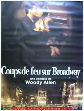 COUPS DE FEU SUR BROADWAY Bullets Over Broadway Affiche Ciné Poster WOODY ALLEN