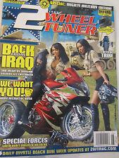 2 Wheel Tuner Magazine June 2008 Special Militar Edition Myrtle Beach Bike Week