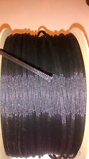 "1/2"" Nylon SLEEVING 25ft BLACK - Tec Flex Tech wiring harness weave"