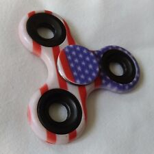 American US Flag Pocket Gear Gyro EDC ADHD Autism Fidget Spinner 3D Focus Toy