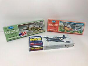 Vintage Guillow's balsa wood model airplane kits - 3