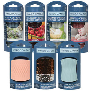 YANKEE CANDLE Electric Scent Plug In Air Freshener Fragrance Diffuser & Refills