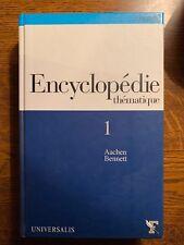 Encyclopédie thématique 1. Aachen/Bennet / Universalis, 2004