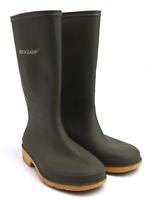 Dunlop Boys UK Size 1 Green Wellington Boots