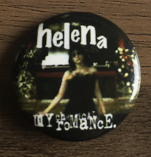 MY CHEMICAL ROMANCE Helena BUTTON BADGE  AMERICAN ROCK BAND GROUP 25mm pin