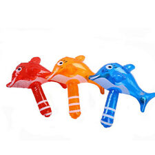 Summer-Bath Toys Inflatable Dolphin Hammer Baby Kids Beach Toys With Rattle CN
