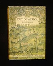 1938 OUT OF AFRICA by Isak Dinesen, 1st Edition First Printing, Dust Jacket, VG